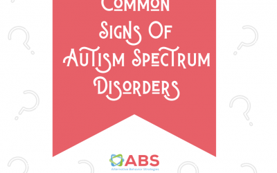 Would You Recognize Any of these Common Signs of Autism?