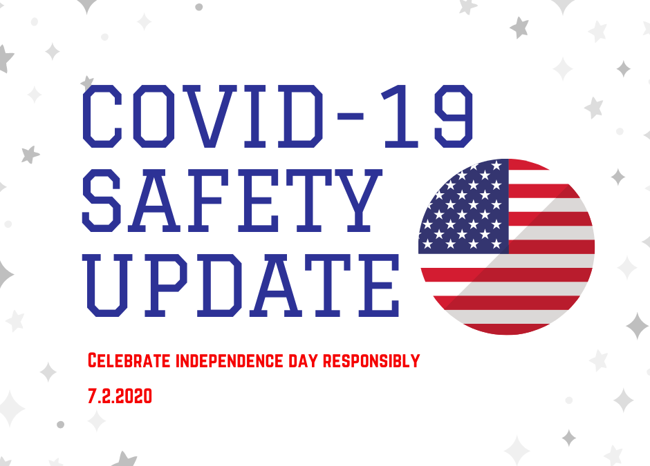 Covid-19 Safety Guidelines & Reminder to Celebrate the Independence Day Responsibly